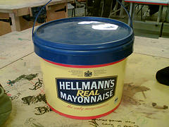 Container of Mayonnaise