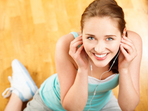 Crank Up The Music When Working Out!